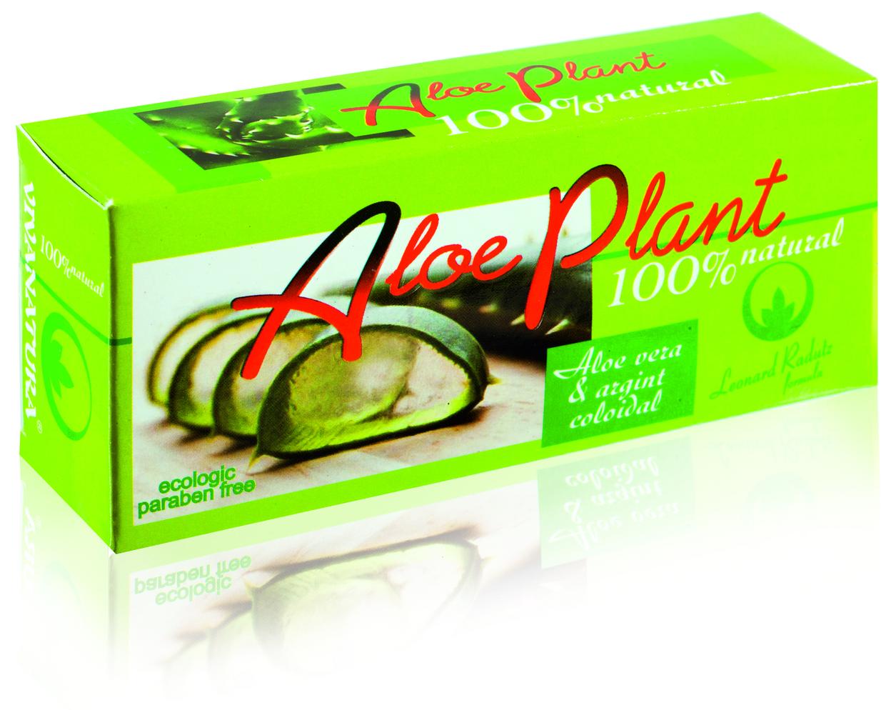 VivaNatura – AloePlant – Gel cu Aloe vera & argint coloidal